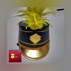 contoh topi drumband terbaru