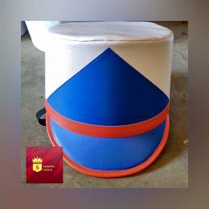contoh desain topi drumband terbaru