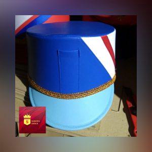 gontoh desain topi marchingband terbaru
