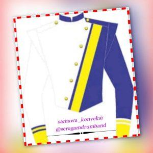 contoh desain baju drumband anak