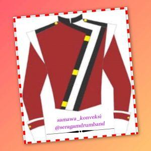 contoh desain baju marchingband terbaru