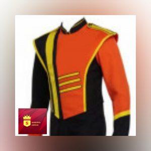 desain seragam pasukan drumband terbaru