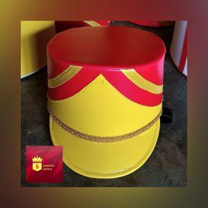 kumpulan desain topi marchingband terbaru