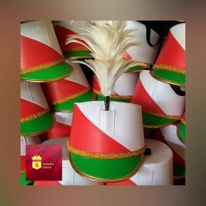 topi drumband untuk anak