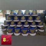 jual topi drumband di sulawesi barat