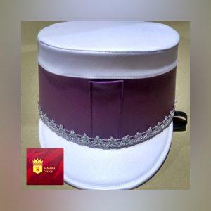 jual topi drumband sederhana