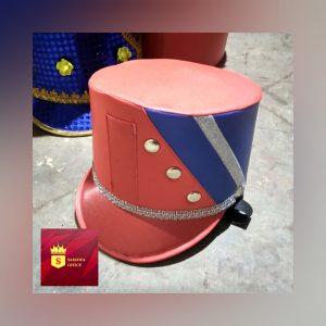 topi drumband anak sma