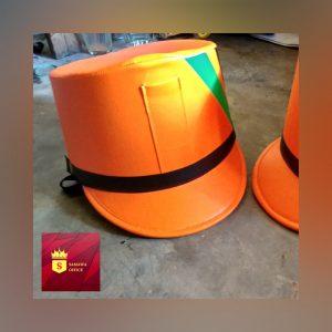 topi drumband anak smp