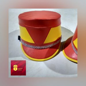 topi drumband anak tk