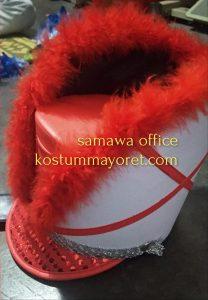 jual topi mayore merah putih